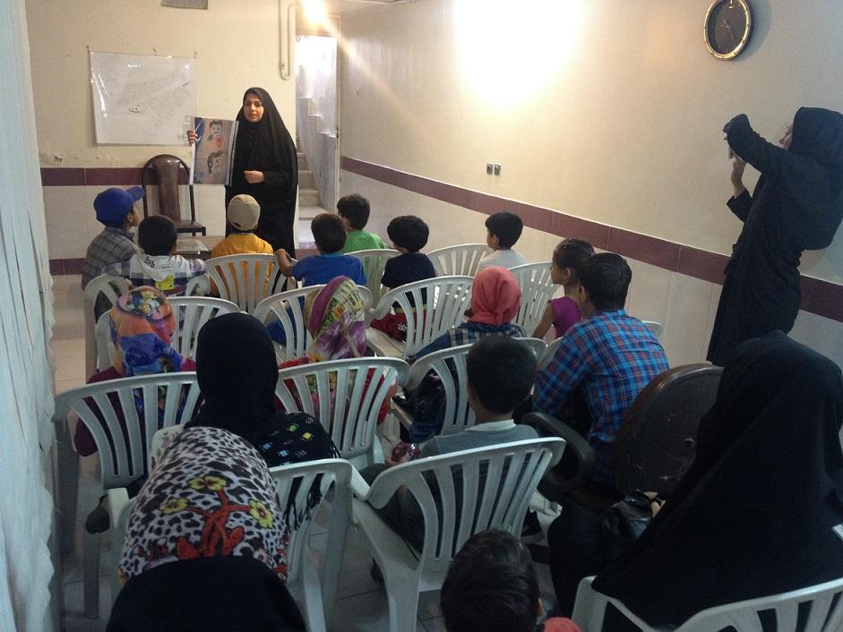 کارگروه بهداشتی موسسه در منطقه حصه
