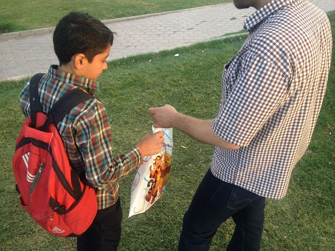 تامین مایحتاج فرهنگی کودکان کار و خیابانی